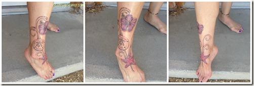 hibiscus tattoo 2